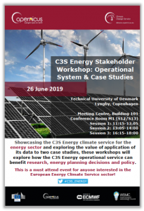 C3S Energy ICEM Workshop Flyer