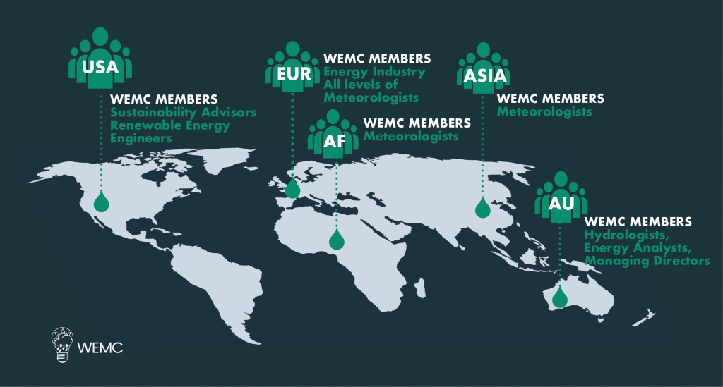 WEMC Global Membership Map 2020