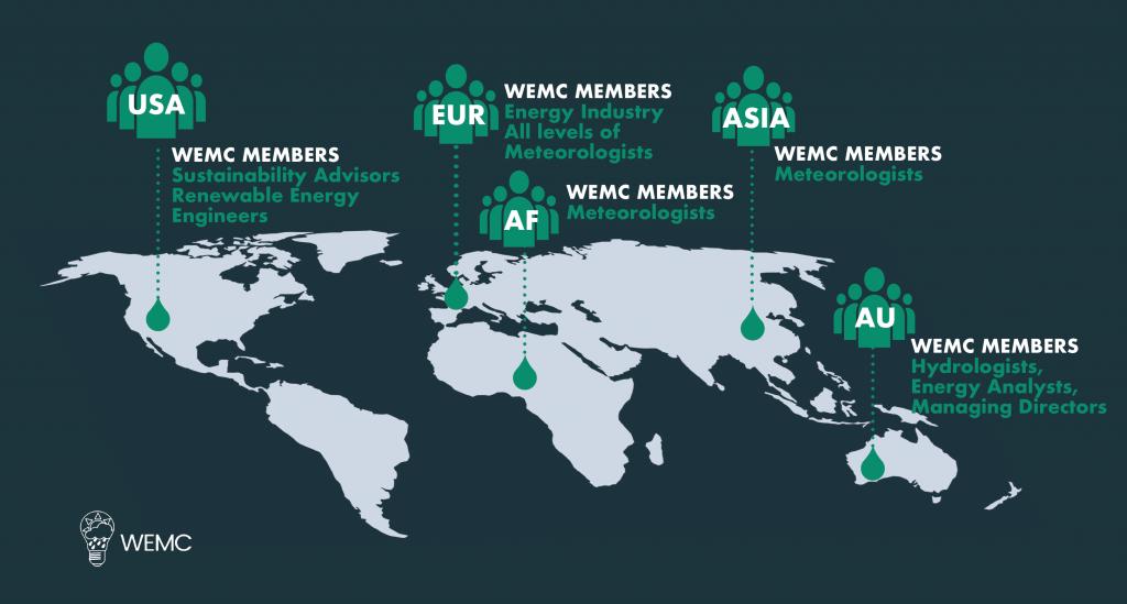 WEMC Global Membership Map 2020